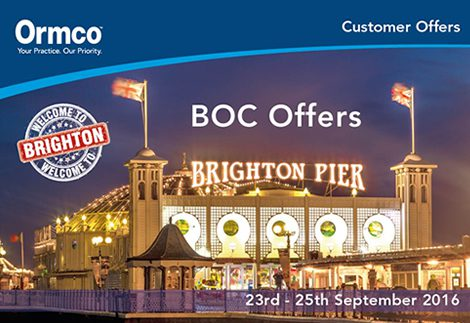 Visit Ormco at the BOC
